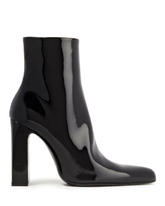 Woman Faux Patent-leather Ankle Boots