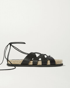 Space For Giants Yasmine Leather Espadrille Sandals - IT35