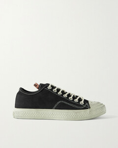 Distressed Canvas Sneakers