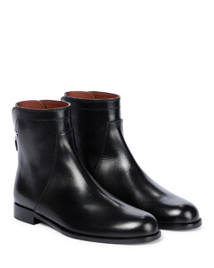 Welly皮革及踝靴
