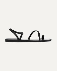 Eleftheria Braided Glittered Rubber Sandals - IT35