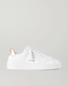 Superstar Distressed Leopard-print Calf Hair, Leather And Suede Sneakers - IT36
