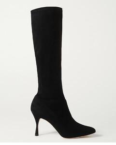 Pamfilo Stretch-suede Knee Boots - IT37.5