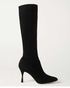 Pamfilo Stretch-suede Knee Boots - IT37.5