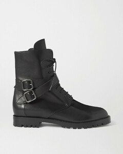 Tiniosa Buckled Leather Ankle Boots - IT35