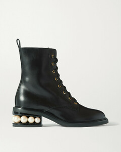 Casati Embellished Leather Ankle Boots - IT42