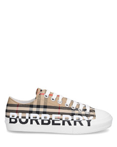 Low-Top Sneakers VINTAGE CHECK cotton