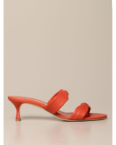 Pallera sandals in nappa leather