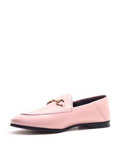 Ladies Leather Horsebit Loafers