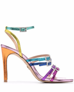 Ladies Solway Chain Link Strap Leather Loafers