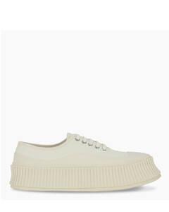White canvas Olona sneakers