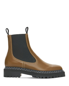 30mm Lug Leather Chelsea Boots