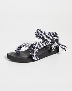 Trekky织物凉鞋