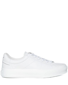 Perforated Lace-Up Leather Boots