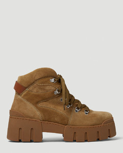 Leather Gommino loafer with checks print