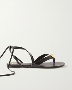 Garavani Upstud Leather Sandals