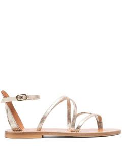 Women's Wide Double Strap Sandals - Tortoiseshell