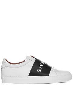 Webbing Low-Top Sneakers