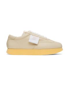 白色&驼色Light运动鞋