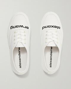 Becker Logo-print Twill Sneakers