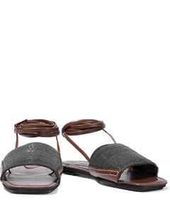 Fussbett criss-cross sandals