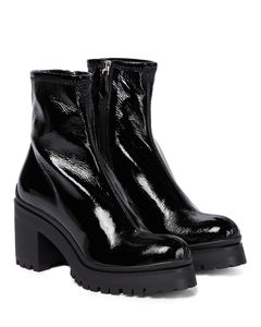 Naplak leather ankle boots