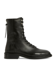 Leather Misty Ankle Boots 30