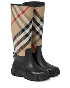 House Check橡胶雨靴
