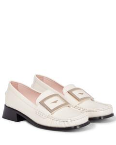 Preppy Viv'漆皮乐福鞋
