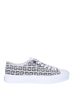 CITY LEATHER SNEAKERS