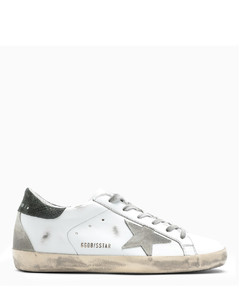 Superstar sneakers white/military green