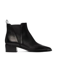 黑色Jensen切尔西靴