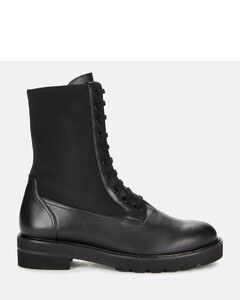 Women's Ande Lift Leather Lace Up Boots - Black