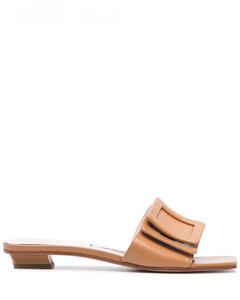 Chips Leather Sandals