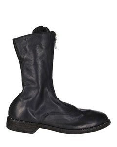 Black Horse Leather Boots