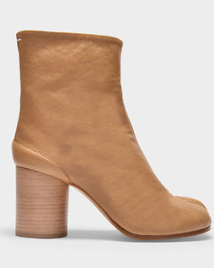 Ankle Boots Tabi H80 in Beige Soft Vintage Leather