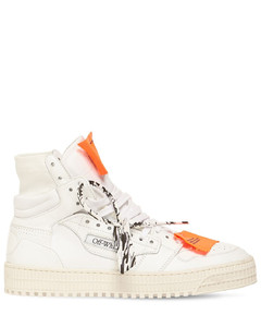 20mm 3.0 Leather & Mesh High Top Sneaker