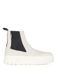Mayze Chelsea Suede - Marshmallow