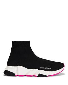 Speed Lt Sneakers in Black,Fuchsia