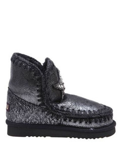 Recycled Rubber & Fur City Boot