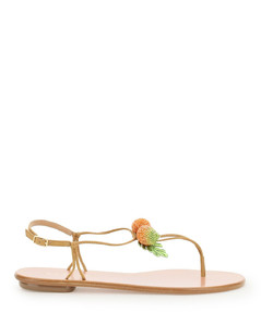 manguito flat sandals