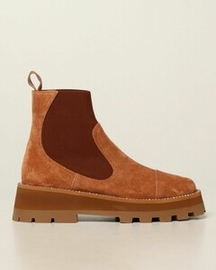 Clayton ankle boots in suede
