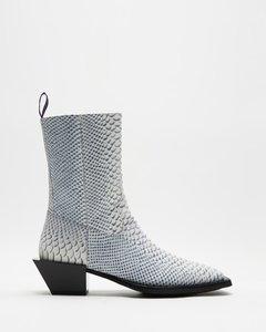 Luciano Snake Boots