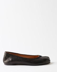 Women's Pixen Leather Flatform Trainers - Grey