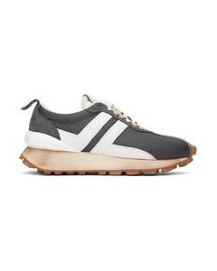 灰色Bumpr运动鞋