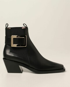 BellyViv 'Tex ankle boots in leather