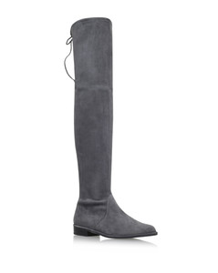Suede Lowland Thigh High Boots