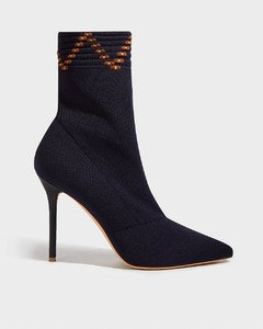 Mariah Stretch-Knit Sock Boots