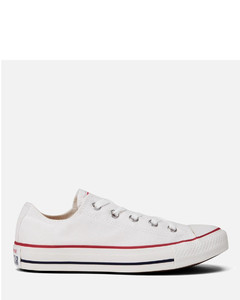 Unisex Chuck Taylor All Star OX Canvas Trainers - Optical White