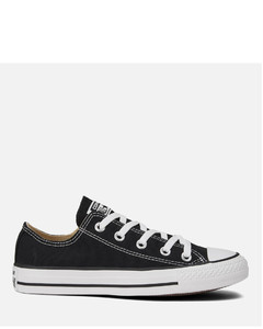 Unisex Chuck Taylor All Star OX Canvas Trainers - Black